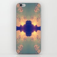 Multiple Sunsets  iPhone & iPod Skin