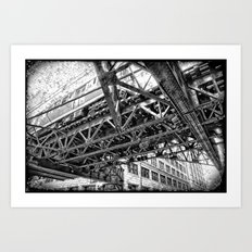 Looking Up by: Augle Art Print