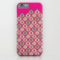 iPhone Cases featuring Eyes of Argus (Pink) by maritta jones design