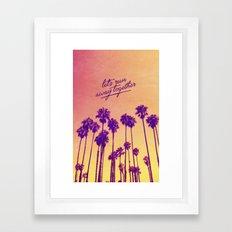 Together - for iphone Framed Art Print