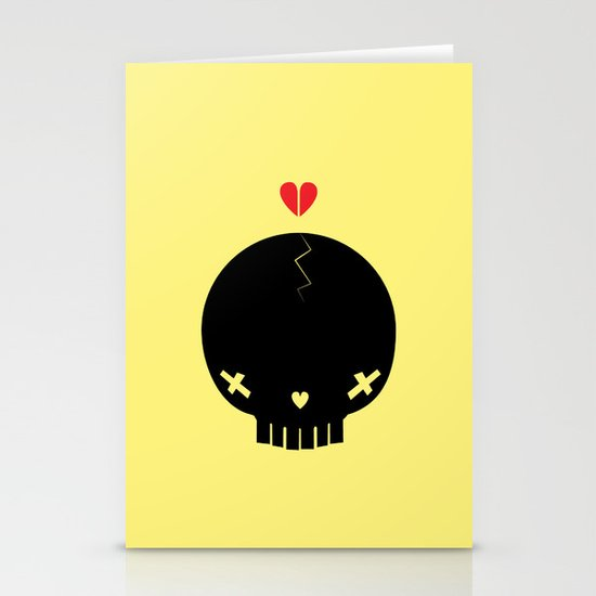 HEART BREAKER - ed. fact Stationery Card