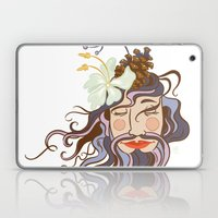 Bearded Lady Laptop & iPad Skin