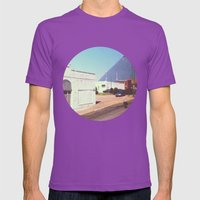 Memphis Mens Fitted Tee Ultraviolet SMALL