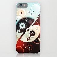 Ying-Yang Blue Version iPhone 6 Slim Case
