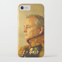portrait iPhone & iPod Cases featuring Bill Murray - replaceface by replaceface