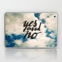 Yes and No Laptop & iPad Skin