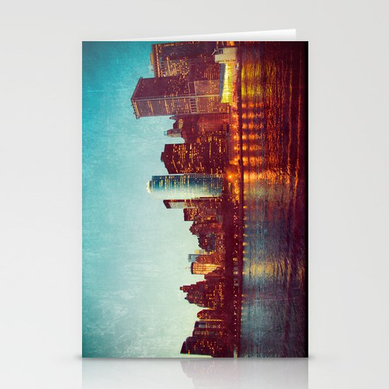 When the Lights Go Out Stationery Card