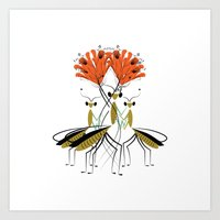 The Lily Farmers Art Print