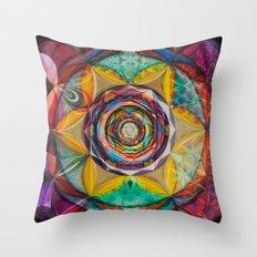 Micro-Macrocosm Throw Pillow