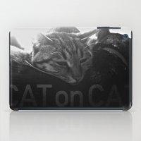 Cat on Cat iPad Case