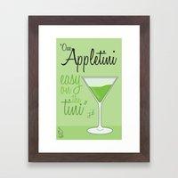 Tv drink quotes [ SCRUBS ] Framed Art Print