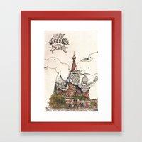 Moscow II Framed Art Print