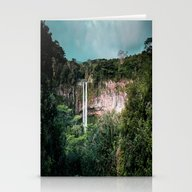 Pure Waterfall Stationery Cards