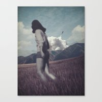 Kicked out Canvas Print