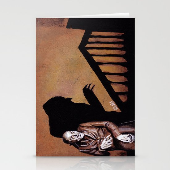 Nosferatu - A Symphony of HORROR! Stationery Card