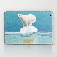 Polar Ice Cream Cap Laptop & iPad Skin