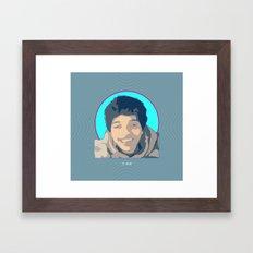 St. Jessie Framed Art Print