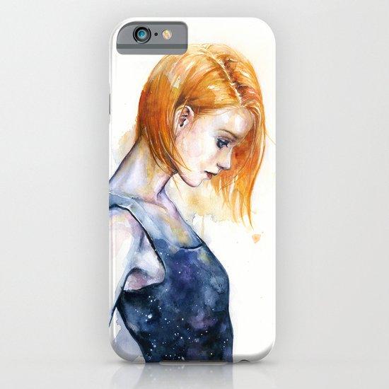heliotropic girl  iPhone & iPod Case