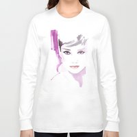 Fashion Illustration In … Long Sleeve T-shirt