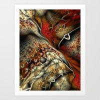 Glynnia Fractal Art Art Print