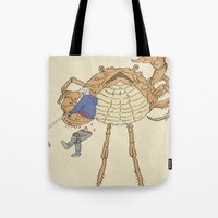 SCALLY CRAB Tote Bag
