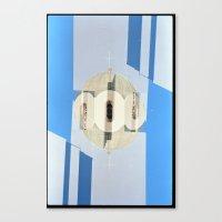 Landscapes c20 (35mm Double Exposure) Canvas Print