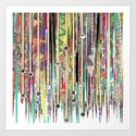 Fringe Benefits Art Print