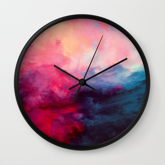 Reassurance Wall Clock By Caleb Troy Society6