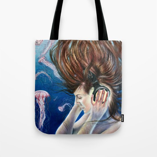 Deep Sounds Tote Bag