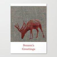 Season's Greetings 01 Canvas Print