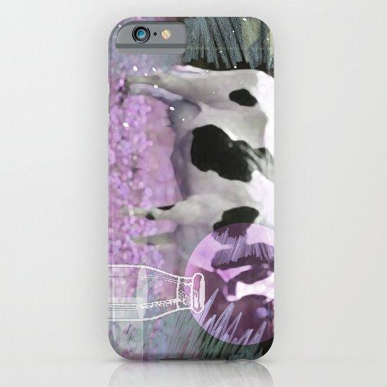 Milk comes from a bottle iPhone & iPod Case
