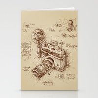 community Stationery Cards featuring Moment Catcher by Enkel Dika