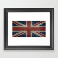 Union Jack (1:2 Version) Framed Art Print