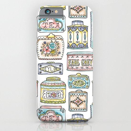 Tea Tins iPhone & iPod Case