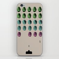 Faceinvaders iPhone & iPod Skin
