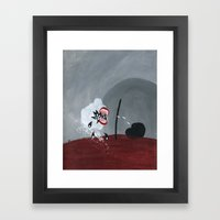 The Sound And The Fury Framed Art Print