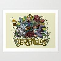 Tera Melos. Art Print