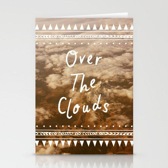 Clouds Stationery Card