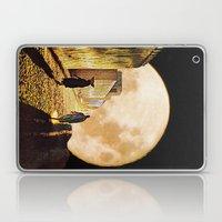 Walking at the moonlight Laptop & iPad Skin