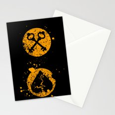Key Death Stationery Cards