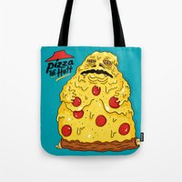 Pizza The Hutt Tote Bag