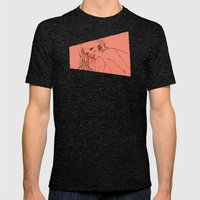 GrrL Mens Fitted Tee Tri-Black SMALL