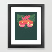 Everything's Fine Framed Art Print