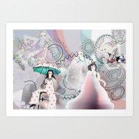 All The Girls Art Print