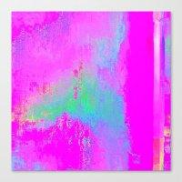 08-03-13 (Cave Glitch) Canvas Print