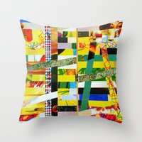Carina (stripes 2) Throw Pillow