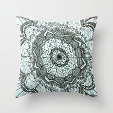 Dream Catcher by Mieke Kristine Throw Pillow