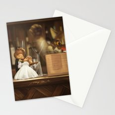 chipmunk's marriage Stationery Cards