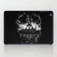 Ghost Ship iPad Case