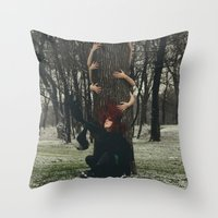 NATURE'S KEEPERS Throw Pillow